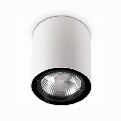 Светильник Ideal Lux Mood PL1 Small Round Bianco