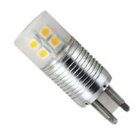 Светодиодная лампа ECOLA G9SG41ELC G9 LED 4.1W CORN MINI 220V 4200K 65X23