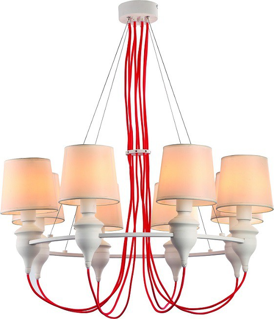 Люстра Arte Lamp A3325LM-8WH