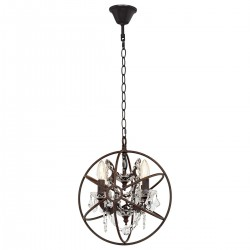 Люстра подвесная LOFT IT LOFT1897/4 Foucaults orb crystal
